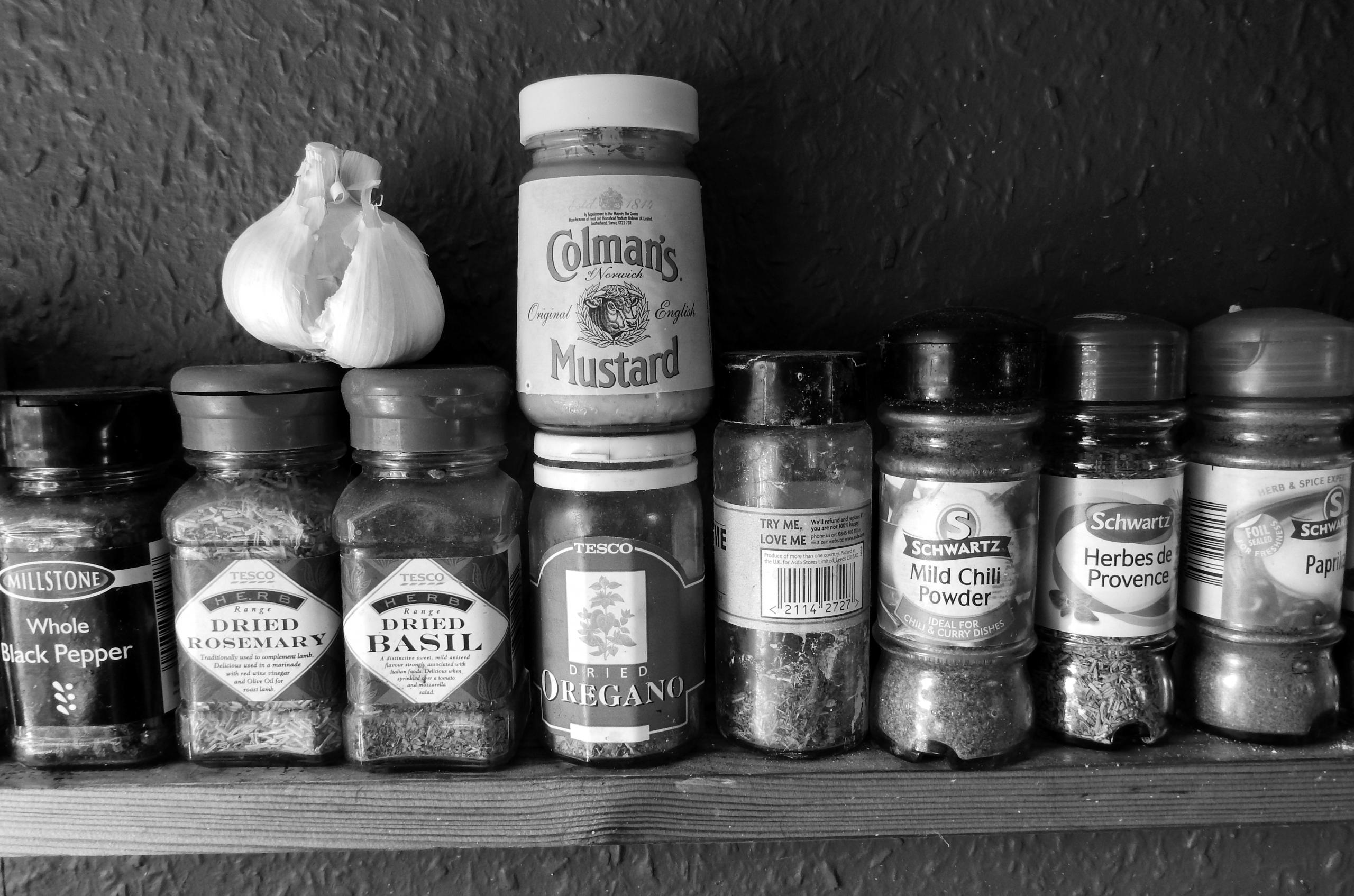 shelf mustard