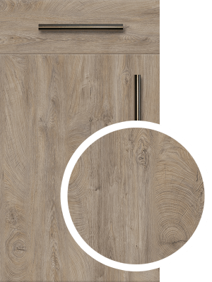 raw endgrain oak