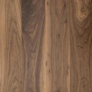 black walnut veneered mdf