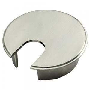 satin nickel cable tidy