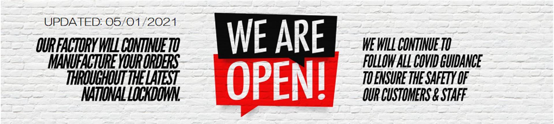 open update banner